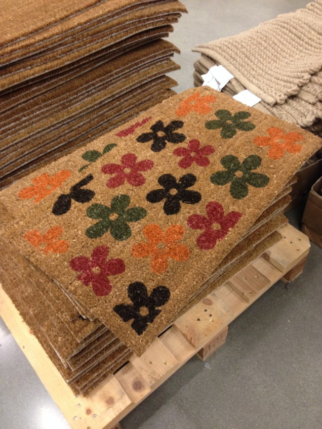 This fun rug would be great at the front door during Summer.
