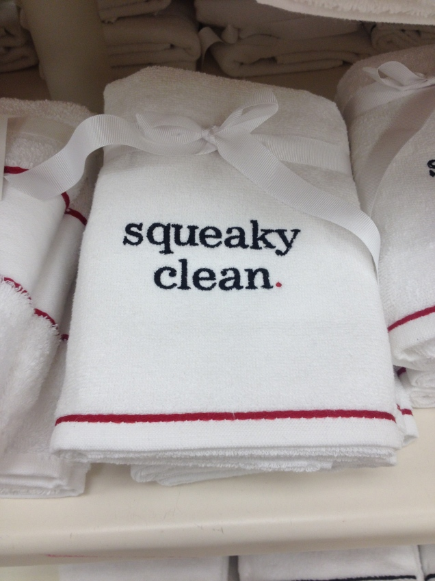 These towels say it all!